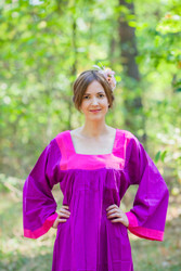 """""""Fire Maiden"""" kaftan in Plain and Simple pattern"""