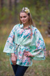 """Oriental Delight"" kaftan Top in Blooming Flowers pattern"