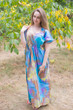 """Side Strings Sweet"" kaftan in Batik Watercolor pattern"