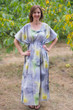 """Side Strings Sweet"" kaftan in Watercolor Splash pattern"