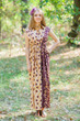 """Cool Summer"" kaftan in Chevron Dots pattern"