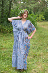 """Timeless"" kaftan in Abstract Floral pattern"
