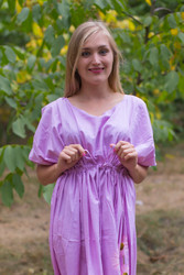 """Cut-out Cute"" kaftan in Falling Daisies pattern"