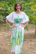"""Cut-out Cute"" kaftan in Floral Watercolor Painting pattern"