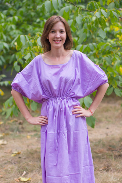 """Cut-out Cute"" kaftan in Plain and Simple pattern"