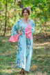 """Frill lovers"" kaftan in Blooming Flowers pattern"