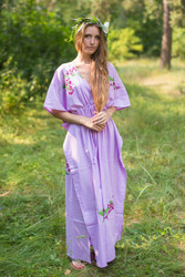 """Timeless"" kaftan in Climbing Vines pattern"
