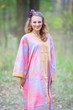 """The Glow Within"" kaftan in Batik Watercolor pattern"
