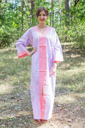 """The Glow Within"" kaftan in Cherry Blossoms pattern"