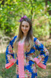 """""""The Glow Within"""" kaftan in Floral Posy pattern"""