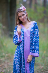 """The Glow Within"" kaftan in Geometrica pattern"