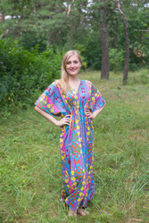 """Timeless"" kaftan in Diamond Aztec pattern"