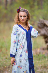"""The Glow Within"" kaftan in Romantic Florals pattern"