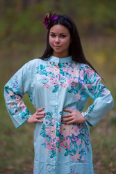 """Charming Collars"" kaftan in Blooming Flowers pattern"