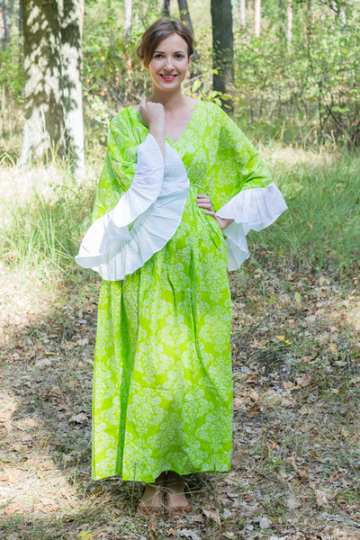 """Pretty Princess"" kaftan in Damask"