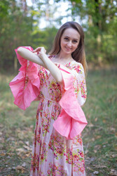 """Pretty Princess"" kaftan in Floral Posy"