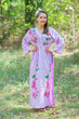 """Button me down"" kaftan in Swirly Floral Vine pattern"