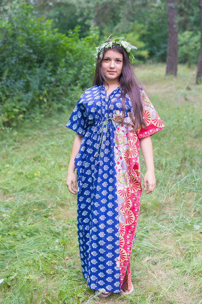 """Timeless"" kaftan in Floral Bordered pattern"