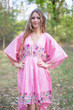 """High Low Wind Flow"" kaftan in Little Chirpies pattern"