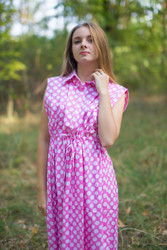 """Cool Summer"" kaftan in Polka Dots pattern"