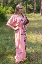 """Timeless"" kaftan in Jungle of Flowers pattern"