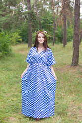 """Timeless"" kaftan in Polka Dots pattern"