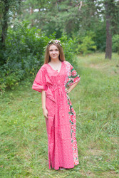 """Timeless"" kaftan in Round and Round pattern"