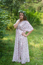 """Timeless"" kaftan in Tiny Blossoms pattern"