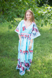 """Breezy Bohemian"" kaftan in Butterfly Baby pattern"