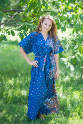 """Best of both the worlds"" kaftan in Abstract Floral pattern"