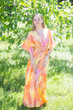 """Best of both the worlds"" kaftan in Batik Watercolor pattern"