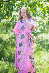 """Best of both the worlds"" kaftan in Butterfly Baby pattern"