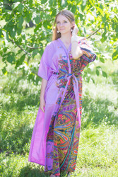 """Best of both the worlds"" kaftan in Cheerful Paisleys pattern"