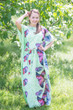 """Divinely Simple"" kaftan in Butterfly Baby pattern"