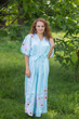 """""""Best of both the worlds"""" kaftan in Falling Daisies pattern"""