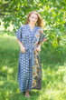 """Best of both the worlds"" kaftan in Floral Bordered pattern"