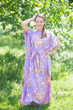 """Divinely Simple"" kaftan in Flower Rain pattern"