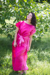 """Divinely Simple"" kaftan in Ombre TieDye pattern"