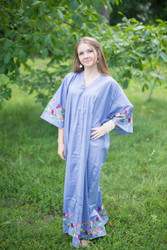 """Best of both the worlds"" kaftan in Little Chirpies pattern"