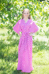 """Best of both the worlds"" kaftan in Polka Dots pattern"