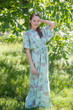 """""""Best of both the worlds"""" kaftan in Romantic Florals pattern"""