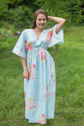 """I wanna Fly"" kaftan in Cabbage Roses pattern"