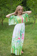 """I wanna Fly"" kaftan in Floral Watercolor Painting pattern"