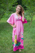 """I wanna Fly"" kaftan in Jungle of Flowers pattern"