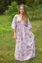 """I wanna Fly"" kaftan in Romantic Florals pattern"