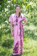 """Beach Days"" kaftan in Big Butterfly pattern"