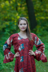 """Frill lovers"" kaftan in Butterfly Baby pattern"