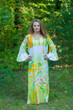 """""""Frill lovers"""" kaftan in Floral Watercolor Painting pattern"""