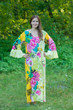 """Frill lovers"" kaftan in Jungle of Flowers pattern"
