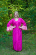 """""""Frill lovers"""" kaftan in Plain and Simple pattern"""